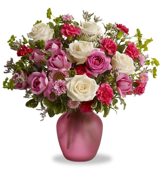 Radiant Roses for Mom: Flower Bouquets - A classic way to